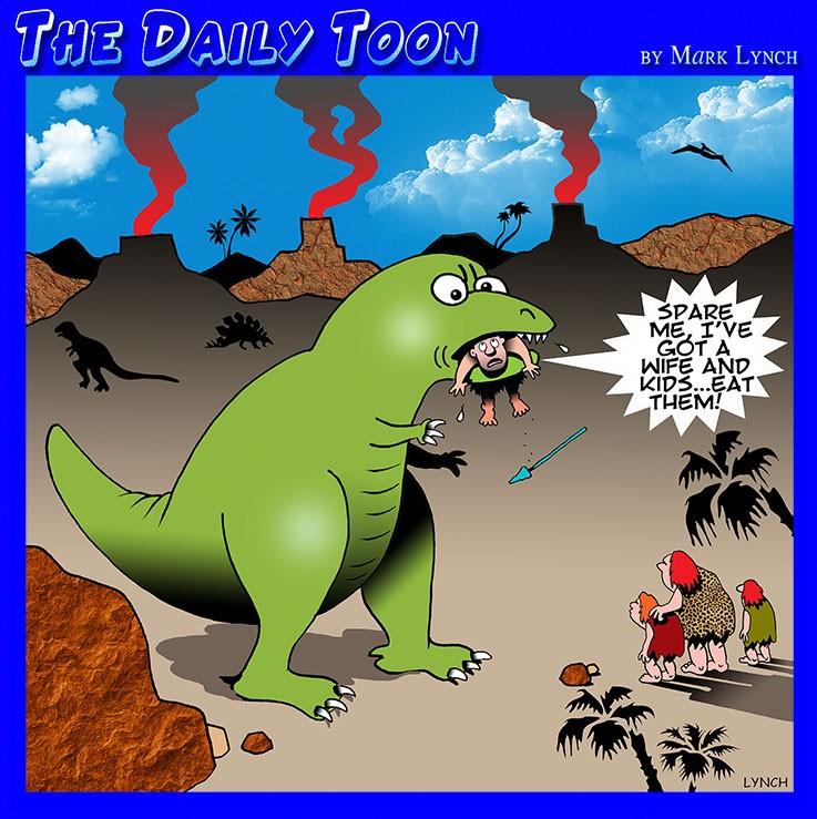 Caveman cartoon