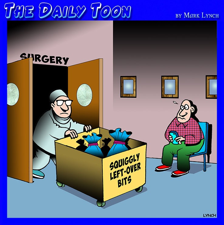 Hospital cartoon