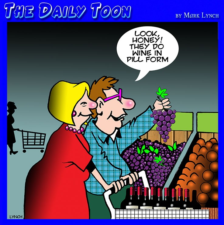 Grapes cartoon