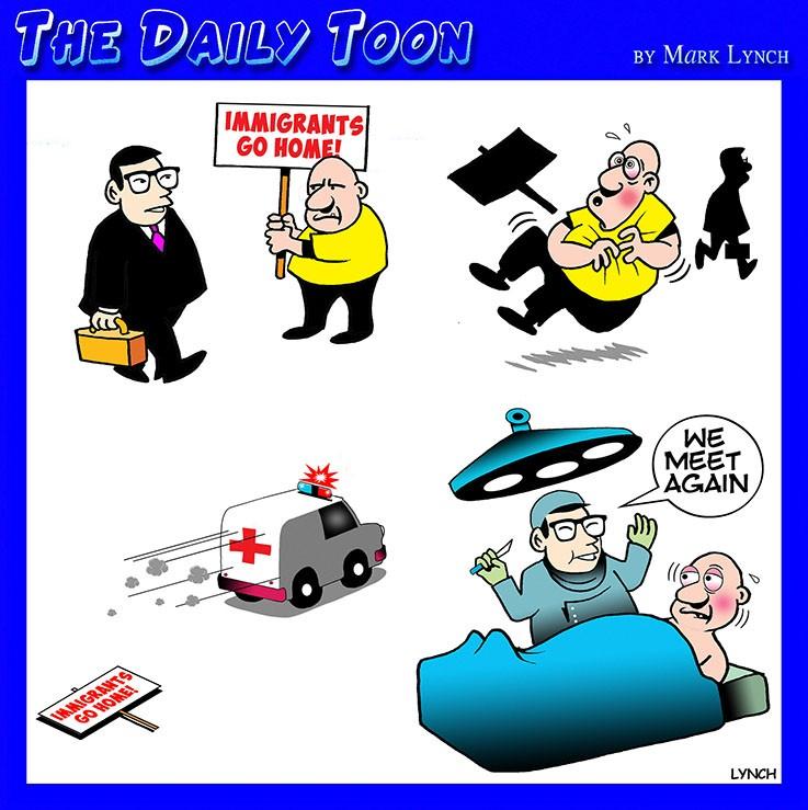 Cardiac arrest cartoon