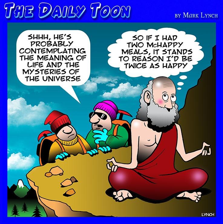 Guru cartoon