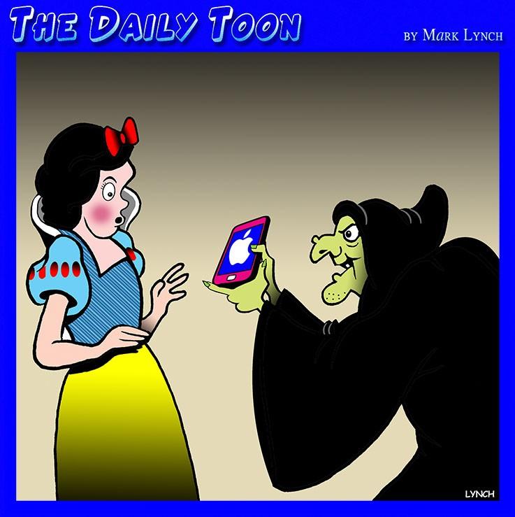 Snow White cartoon