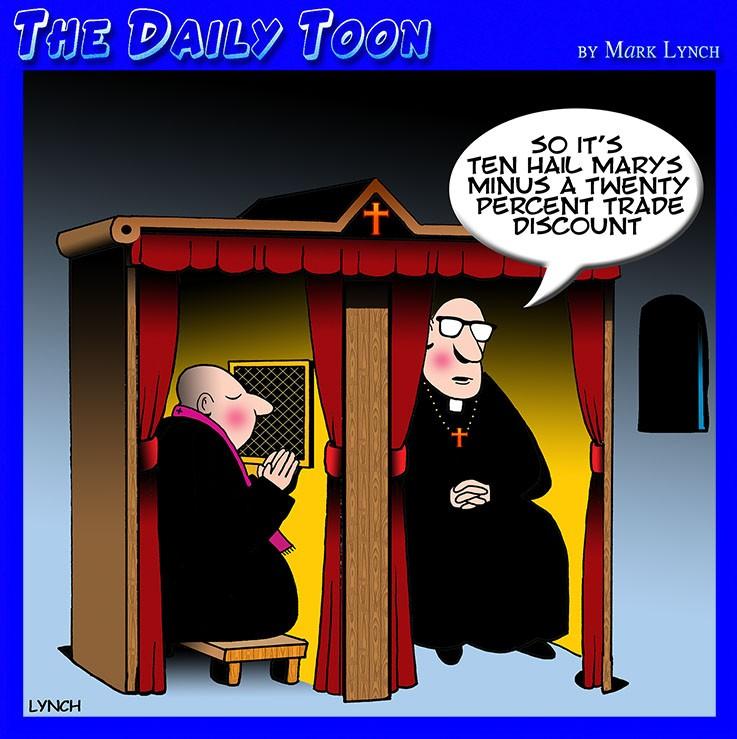 Priests cartoon