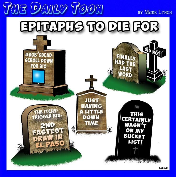 Graveyard cartoon