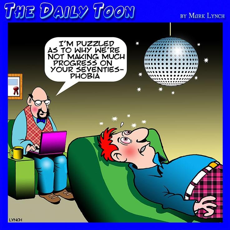 Phobias cartoon