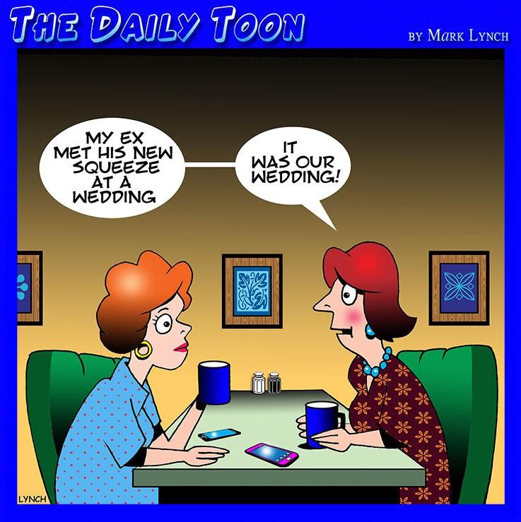 EX Husband cartoon