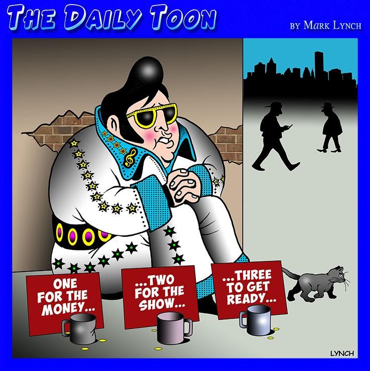 The King cartoon