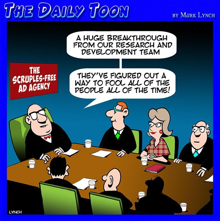 Spin doctors cartoon