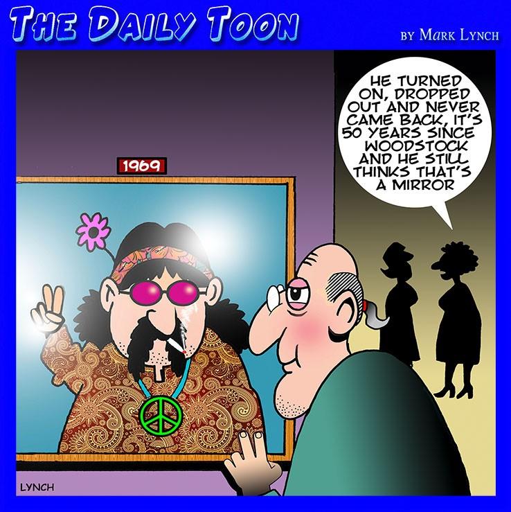 Sixties cartoon