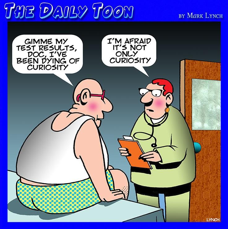 Spoiler alert, cartoon