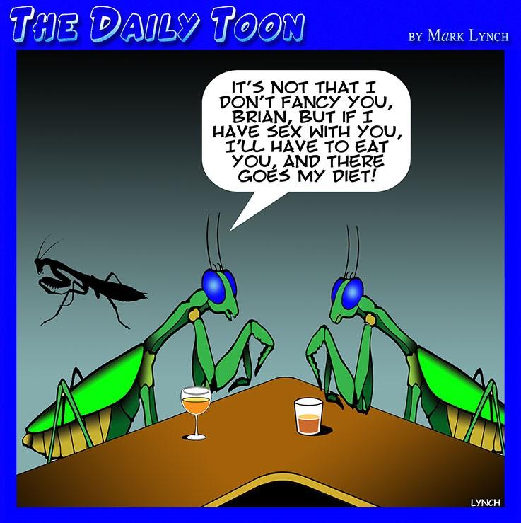 Mating cartoon