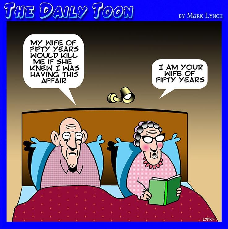 Unfaithful cartoon