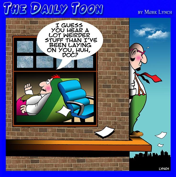 Suicide cartoon