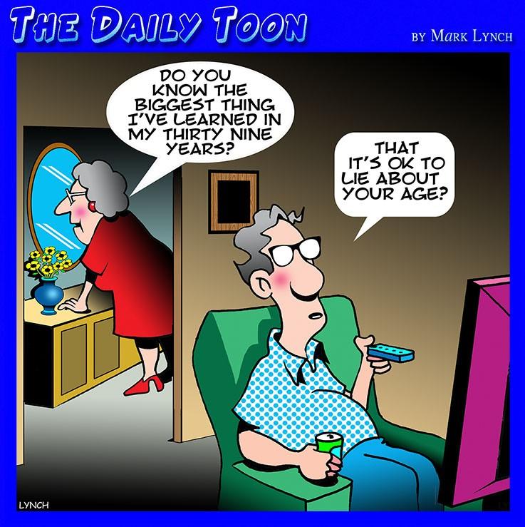 Old age cartoon
