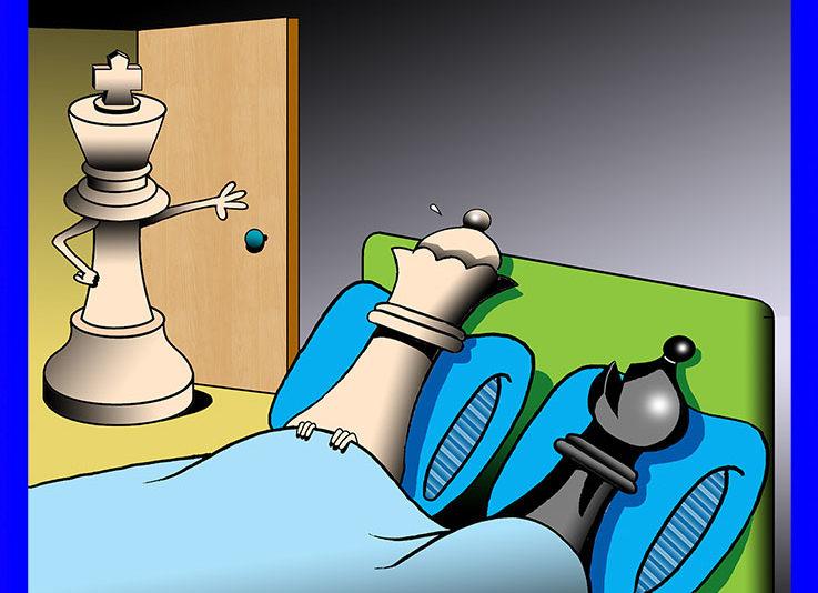 Checkmate cartoon