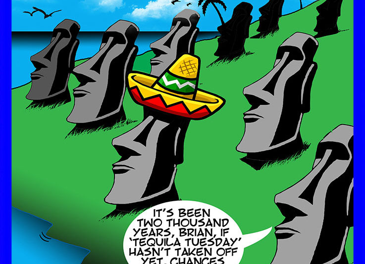 Tequila cartoon