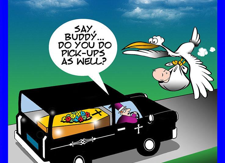 Hearse cartoon