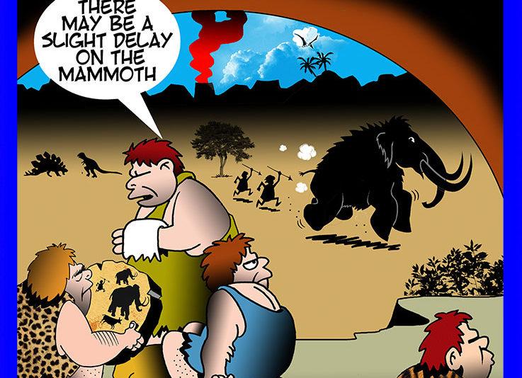 Prehistoric cartoon