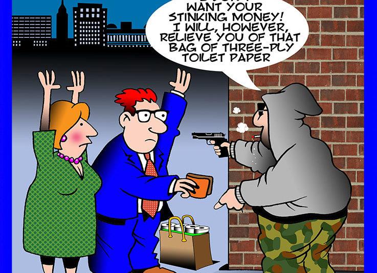 Mugger cartoon