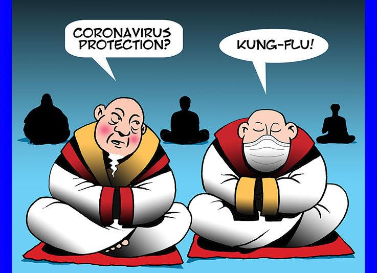 Kung Fu cartoon