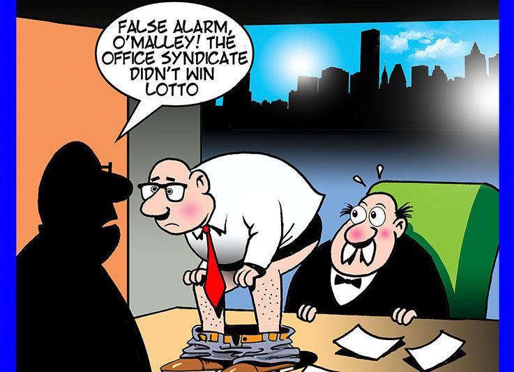 Quitting job cartoon
