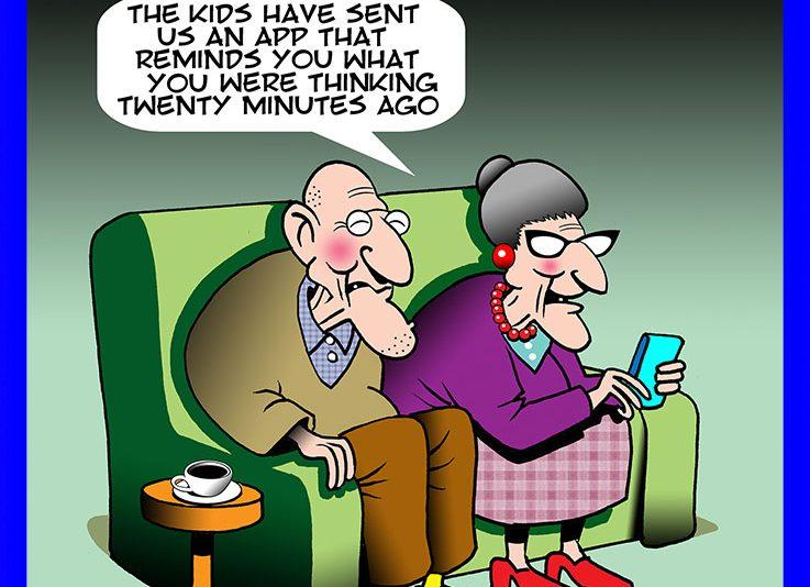 Alzheimers cartoon