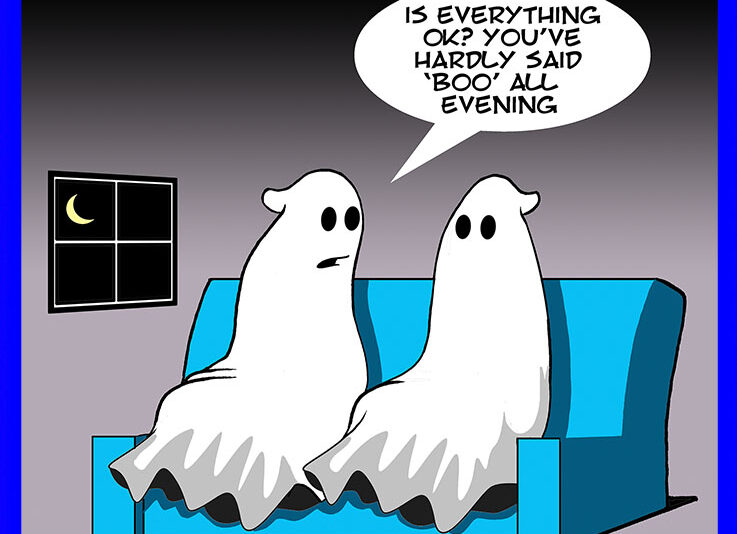 Ghosts cartoon