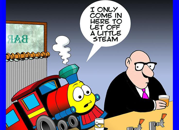 Thomas the tank engine cartoon