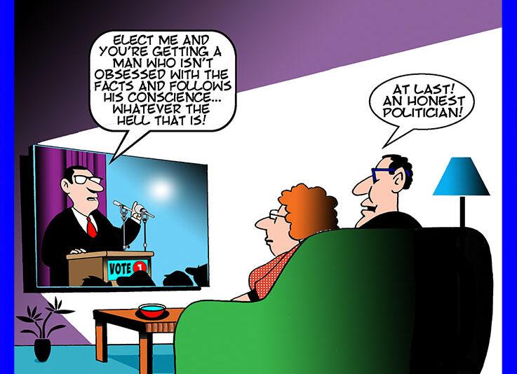 Honest politician