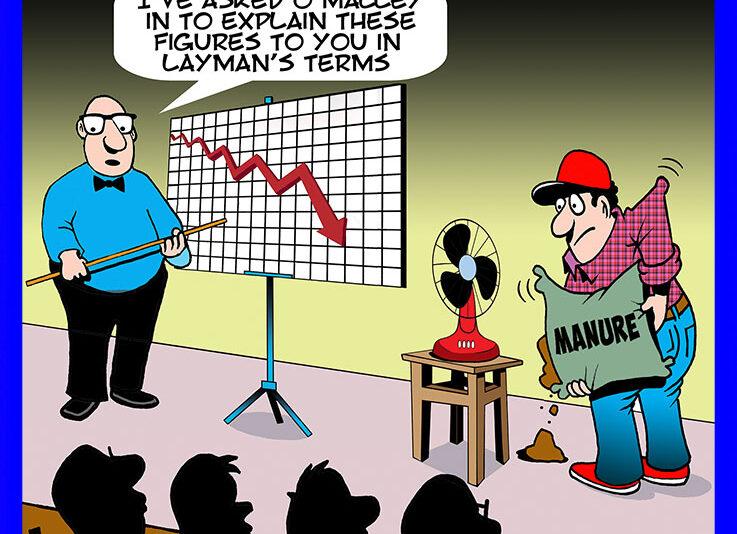 Graph cartoon