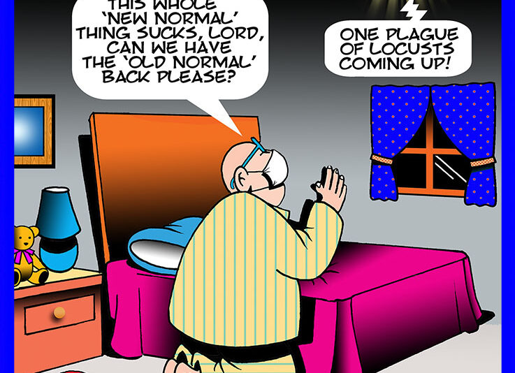 Plague cartoon