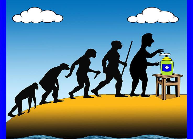 History of man cartoon