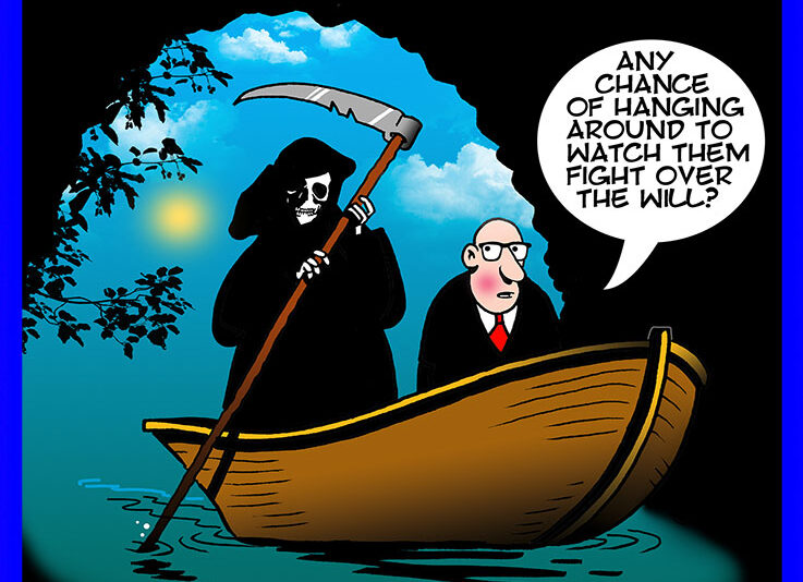 River Styx cartoon