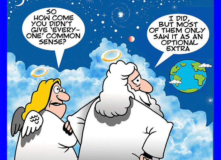 Earths creation cartoon