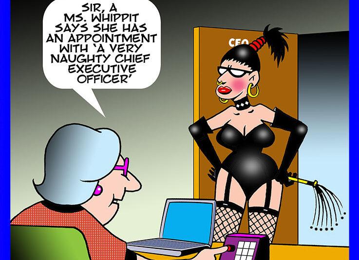 Discipline cartoon