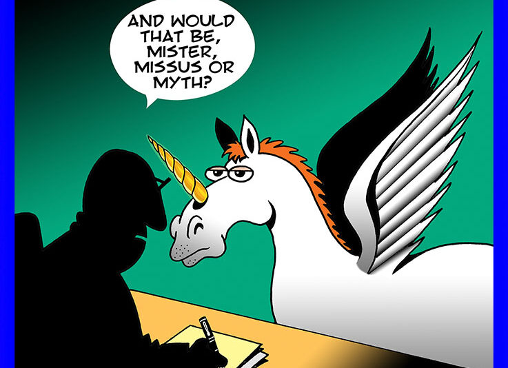 Myth cartoon