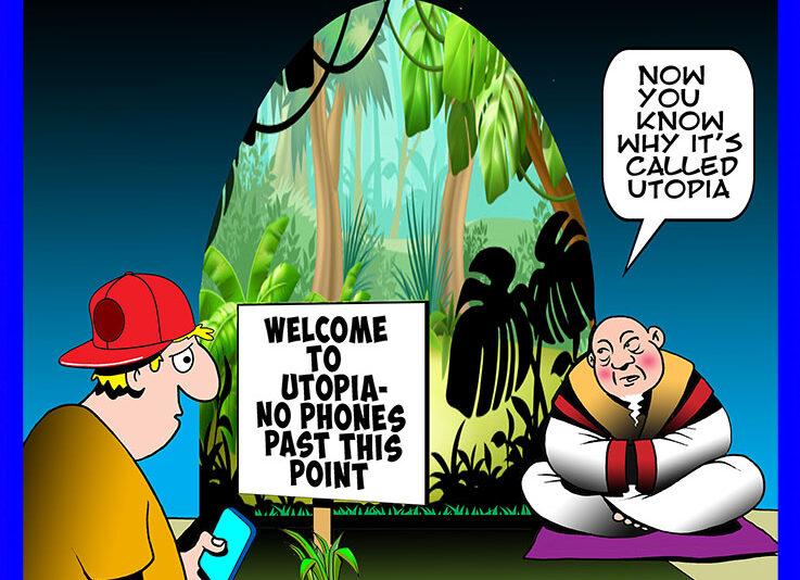 Paradise cartoon