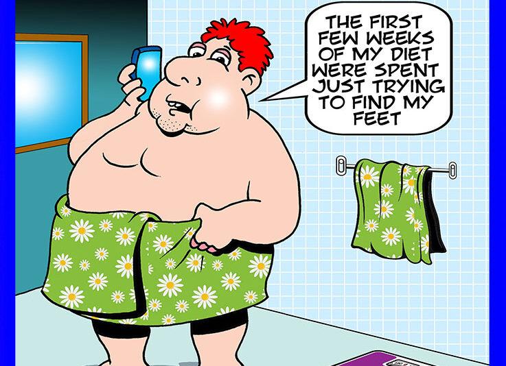 Diet cartoon