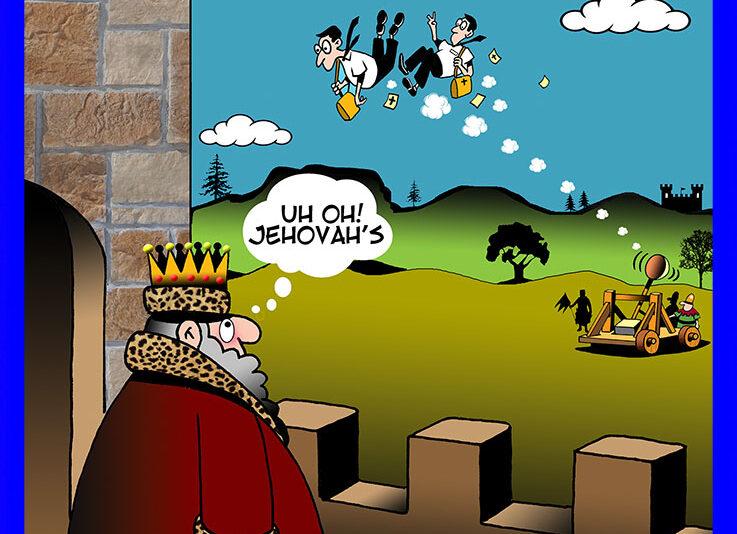 Catapult cartoon