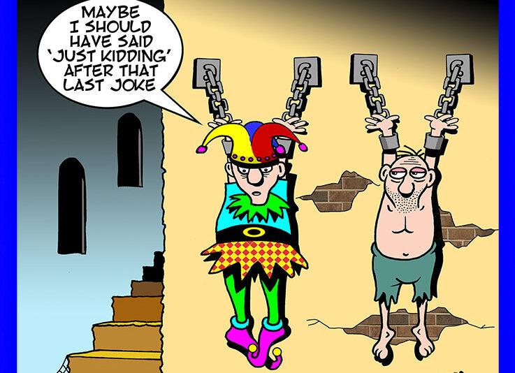 Jester cartoon
