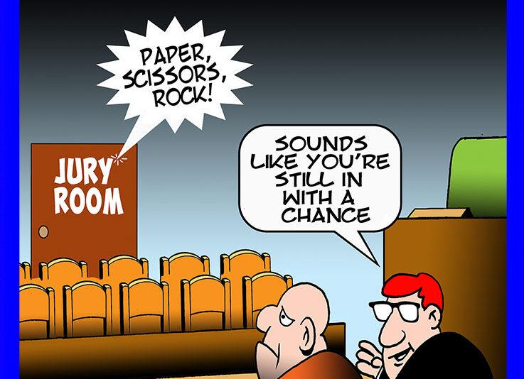 Jury cartoon
