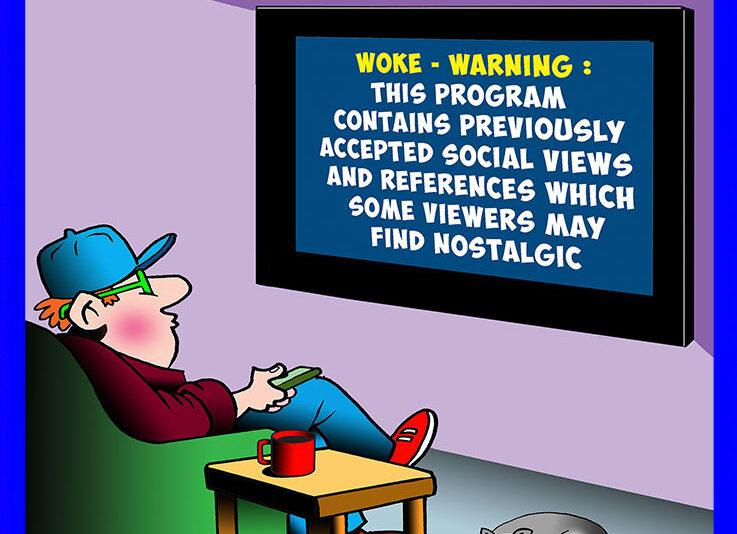 Politically correct cartoon