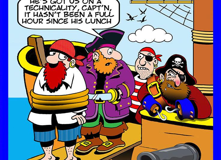 Water safety cartoon