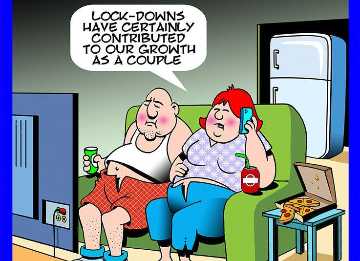 Lockdowns cartoon