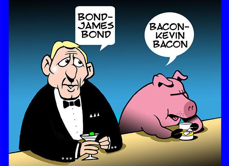 007 cartoon