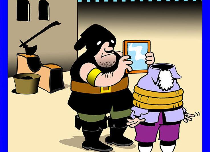 Barber cartoon