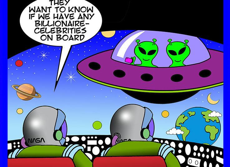 Celebrities cartoon