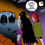 Bat cave cartoon