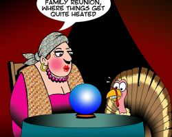 Turkey cartoon
