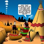 American Indian cartoon